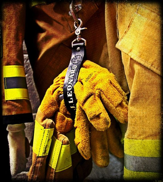 Firefighter Glove Tamer by JBLeatherOutfitters on Etsy, $35.00