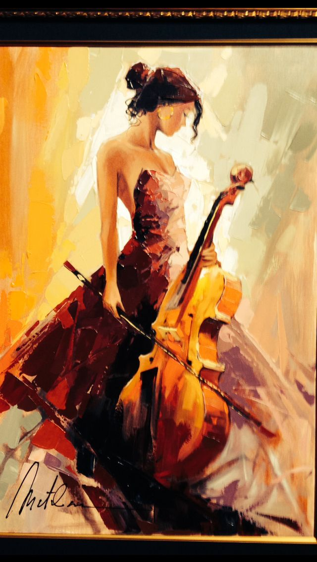 Anatoly Metlan - Beautiful Music. Fantastic Art. Cello