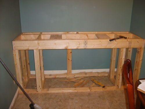 Built in Stand for a 125 Gallon Aquarium #1: Tank and Framing - by JoeyG @ LumberJocks.com ~ woodworking community