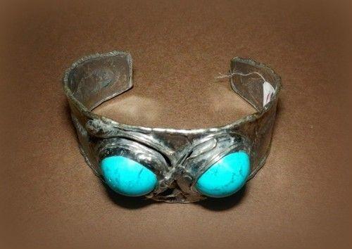 http://megasilver.pl/Bransoleta-p360 #Bracelet #metalwork #handmade #blue #turquoise #stone #jewelry #jewellery