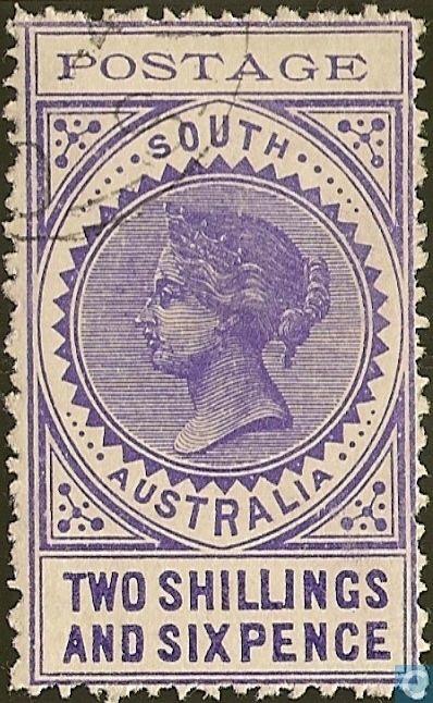 1903  South Australia - Queen Victoria
