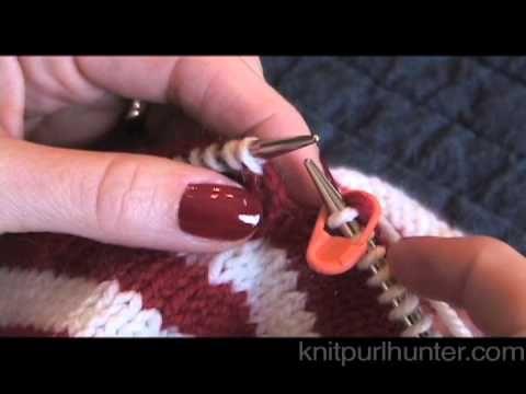 Marcar mientras tejes