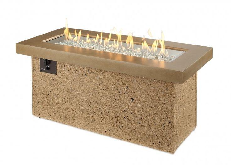 Flo Concrete Gas Fire Pit Table Gas Firepit Gas Fire Pit Table Fire Pit Table