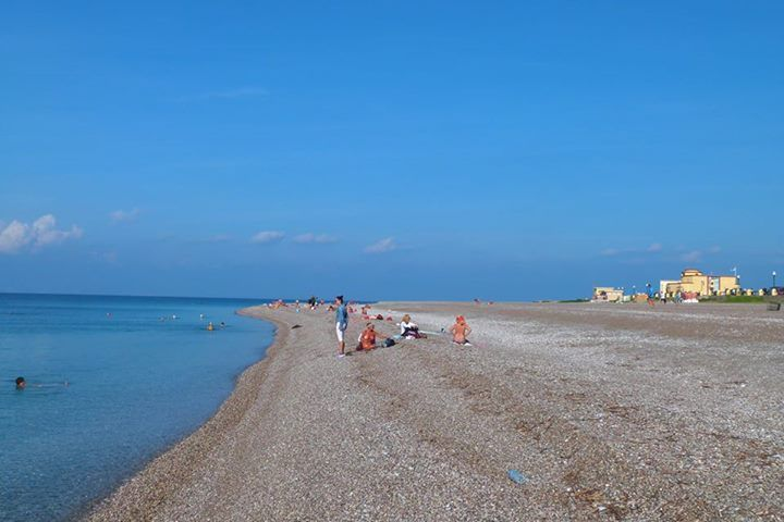 Even in #Autumn a walk by the #beach is #recreational!  #Rhodes #Rodos #Greece
