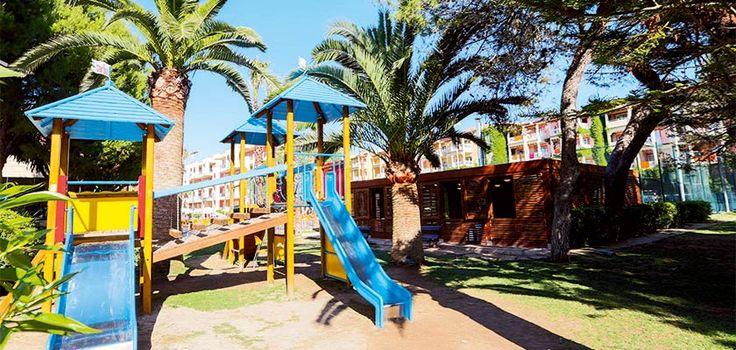 Children Playground in Alcudia Pins Hotel