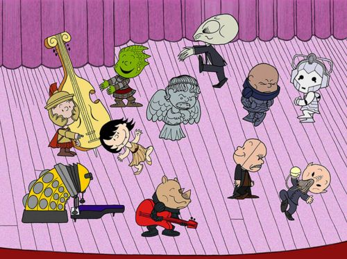 Doctor Who Peanuts Gang Mashup Here are some... - Willem, The Humblr Tumblr