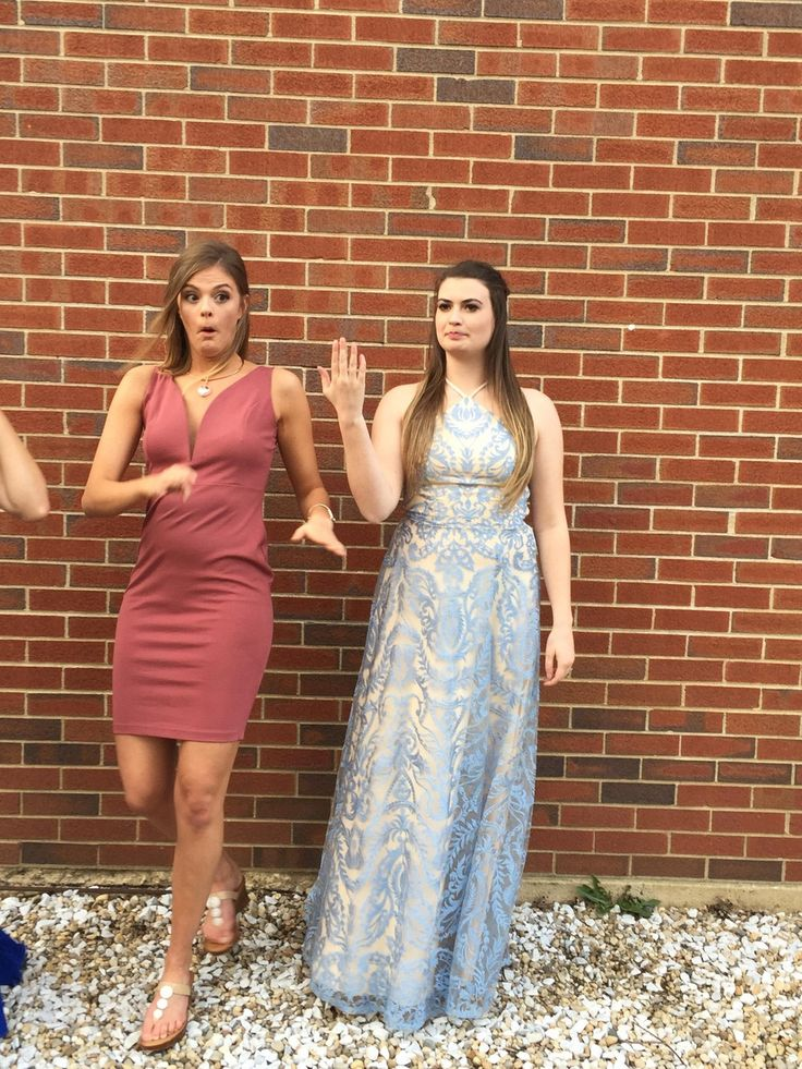 Sorority Sisters Taking Pictures Before Formal.