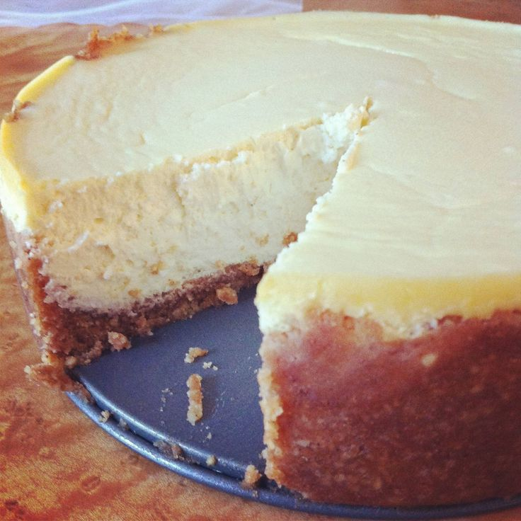 cheesecake... update: I made this and it was delish