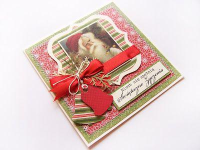 Pierwsza świąteczna kartka bożonarodzeniowa