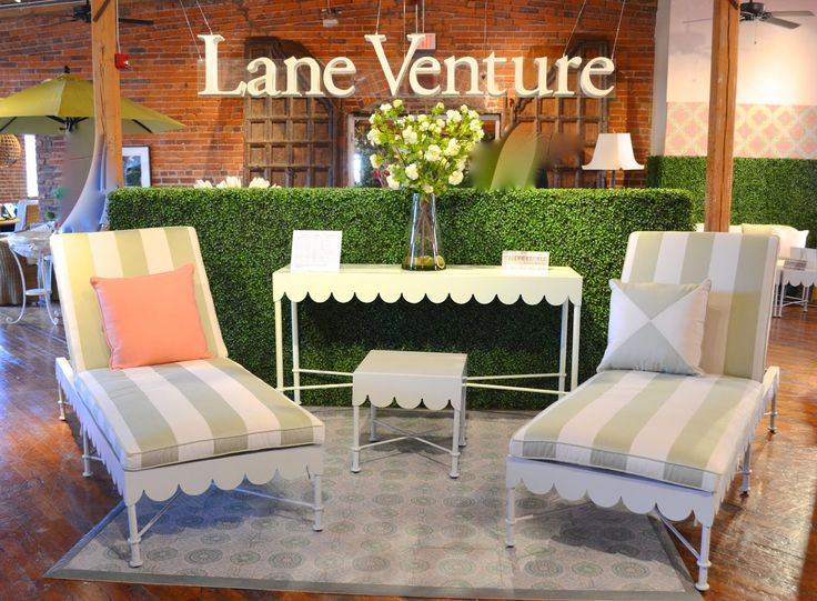 Celerie Kemble Hit The Ball Out Of The Park With Her New Line For Lane  Venture . Her Outdoor Collection For Lane Ventu.
