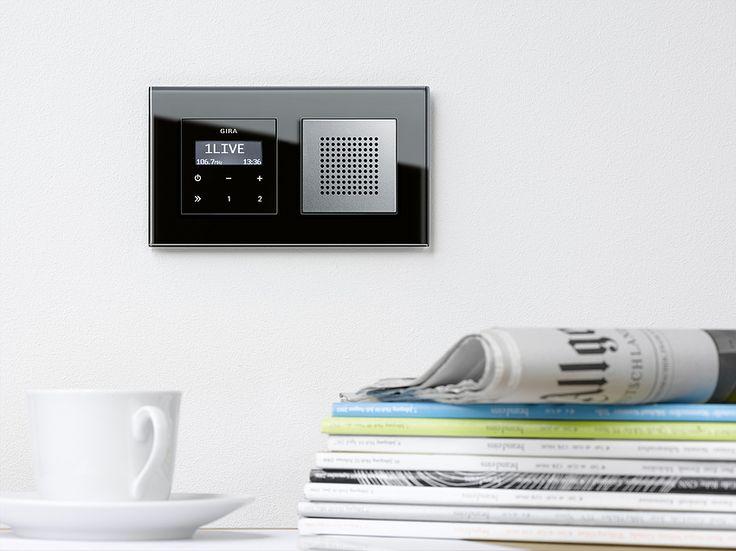 Gira Esprit Flush-Mounted Radio