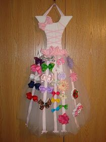 A day in the life of Preachmans Wife: Princess Dress Bow Holder Instructions