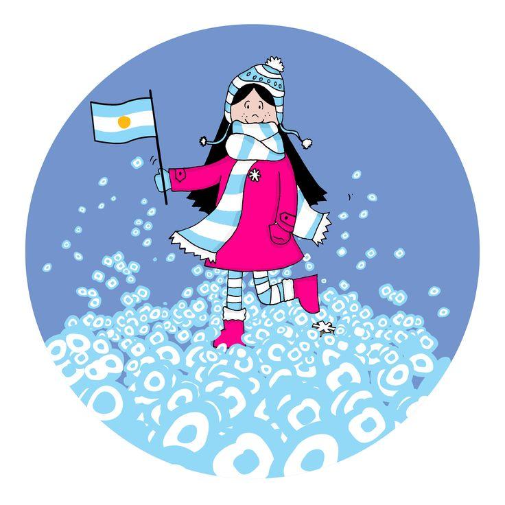 Lux patriota Argentina!   #lux #muñeca #pink #doll #argentina #bandera #escarapela ver mas en FB: lux la muñeca