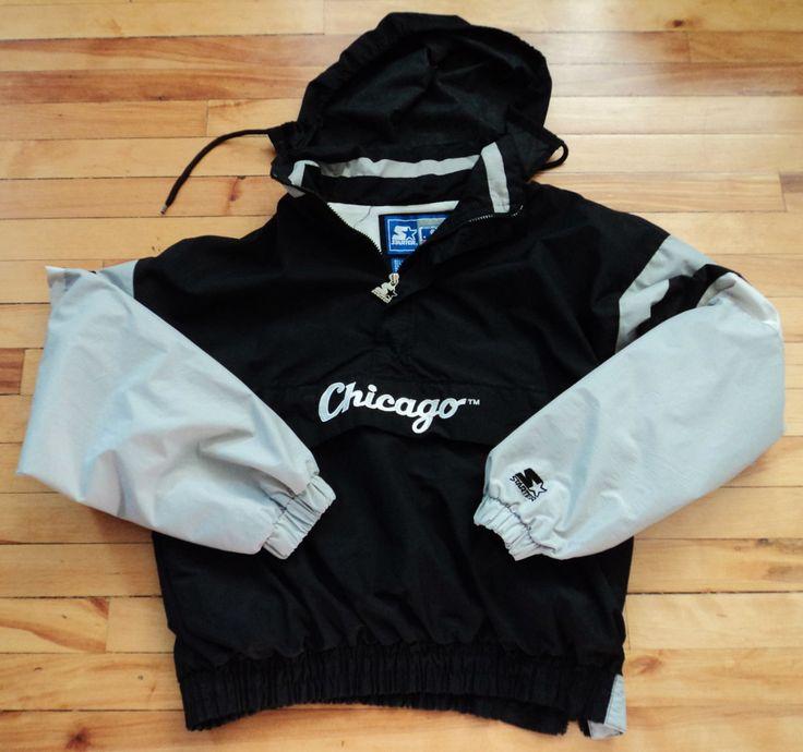 Vintage Chicago White Sox Large Starter Jacket MLB VTG by StreetwearAndVintage on Etsy