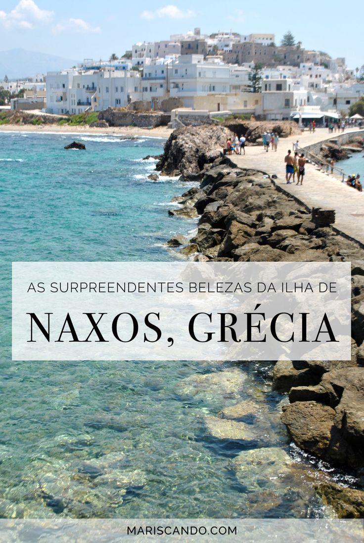 As surpreendentes belezas de Naxos, na Grécia