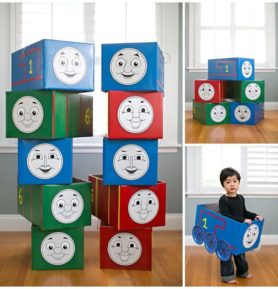 An Easy Tutorial For Making LOTS of Thomas and Friends + 5 Free Printable Faces! (Thomas, Gordon, Percy, Emily, James)