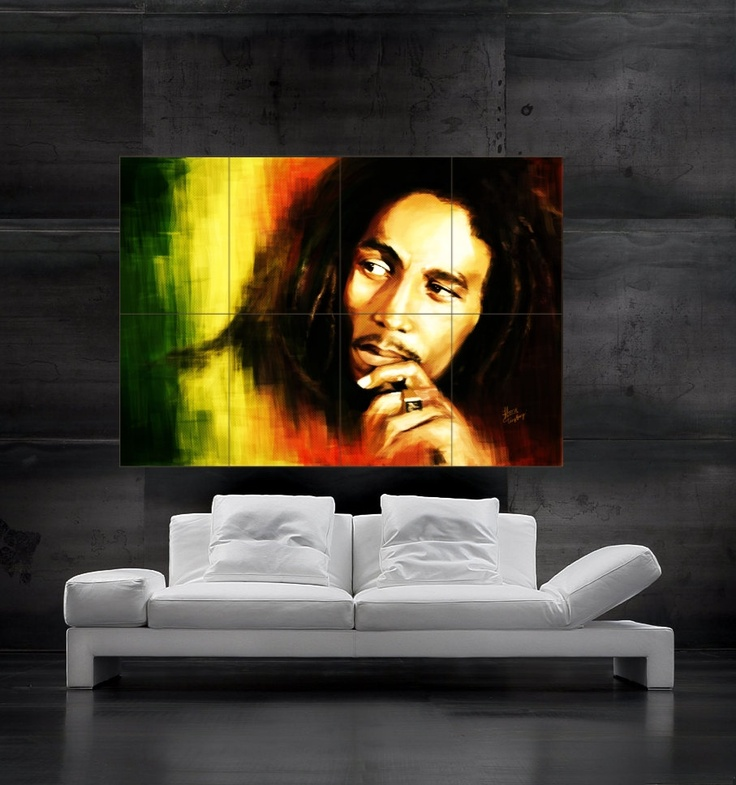 16 best bob marley images on pinterest words reggae music and sweet words - Cuadros de bob marley ...