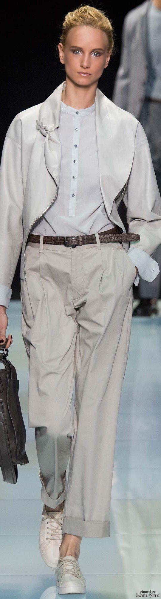 Giorgio Armani from the Menswear Collection 2016
