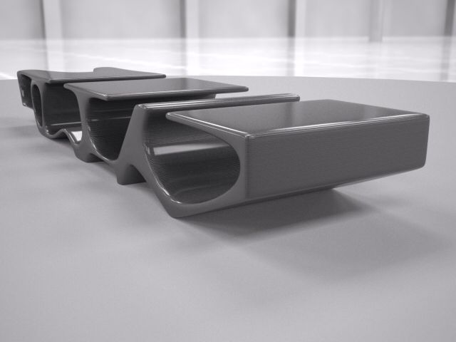 D-bone coffee table - designing for one of the clients