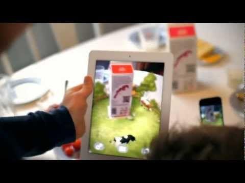 TineMelk AR-app - YouTube