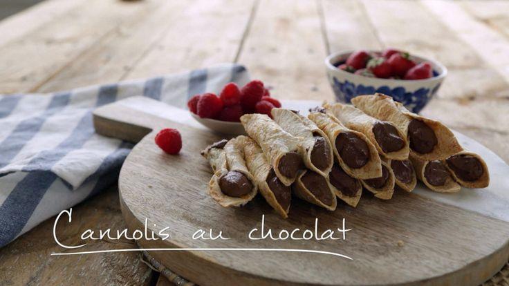 Cannolis au chocolat