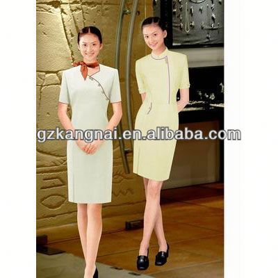 restaurant and hotel uniforms