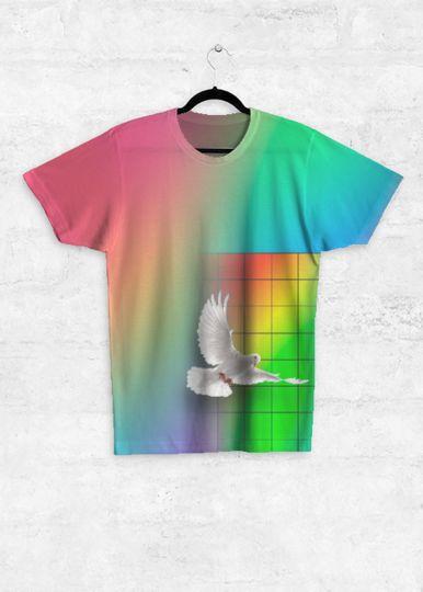 """Peace"" - Unisex T Shirt - Buy @ https://shopvida.com/collections/ian-1"