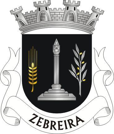 Brasão de armas de Zebreira