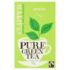 Clipper Pure Green 26 Tea Bags 50g