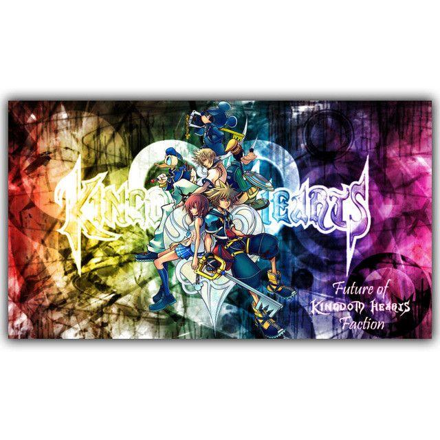 Kingdom Hearts Posters Kingdom hearts wallpaper, Kingdom