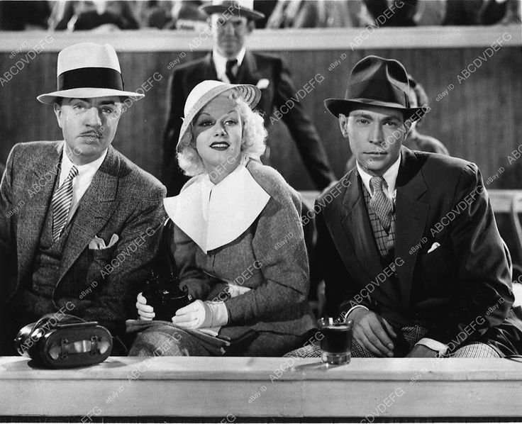 Pic William Powell Jean Harlow Franchot Tone film Reckless 3275-21