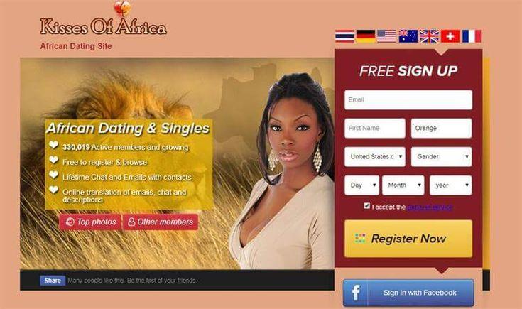 Kissesofafrica dating site