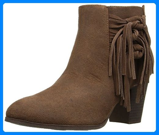 Fergalicious Clover Damen US 6.5 Braun Mode-Stiefeletten - Stiefel für frauen (*Partner-Link)