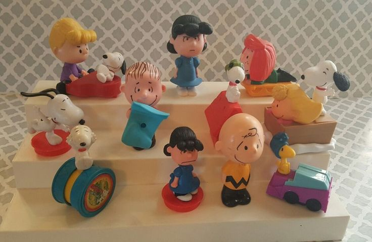 Lot of 11 PEANUTS Characters Snoopy Linus Woodstock,  Sally Peppermint Patty t10    eBay