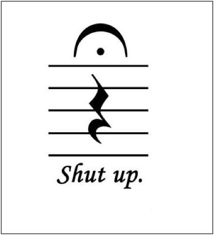 Music nerd humor.