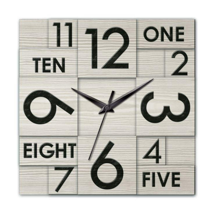 Ashton Sutton Modern Home Multi Layer Wall Clock & Reviews | Wayfair