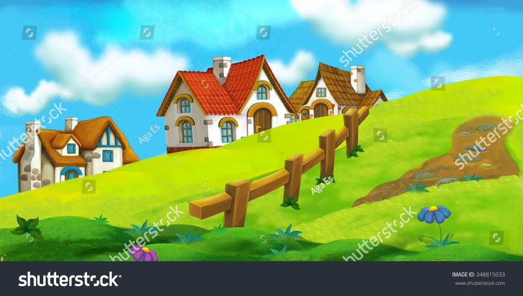Cartoon Background Comic Sunrays Stock Image
