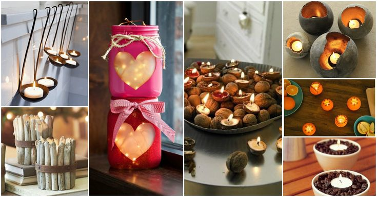 Take a look at our amazing collection ofDIY Unique Candle Holder Ideas For Warm Romantic Winter Nightsand you will be surprised of how many items from your home you might use to make something incredibly romantic.