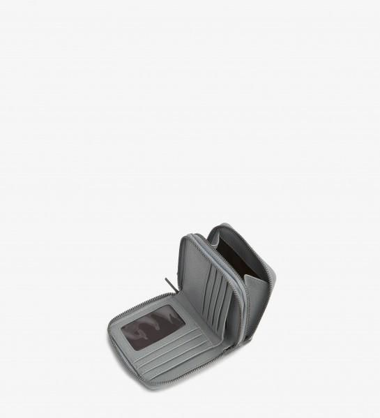Matt and Nat Chubby Dwell Wallet in Gravel Gray Vegan Leather.                                                                                                                                                     More