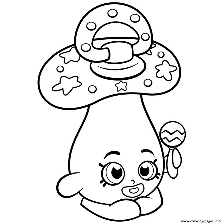 Baby Peacekeepr Coloring Page
