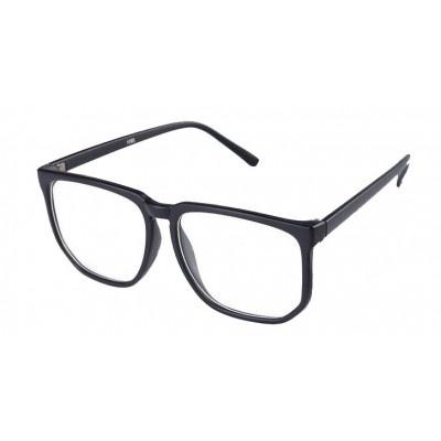 $7 Fausse Lunette Geek Noir Mat