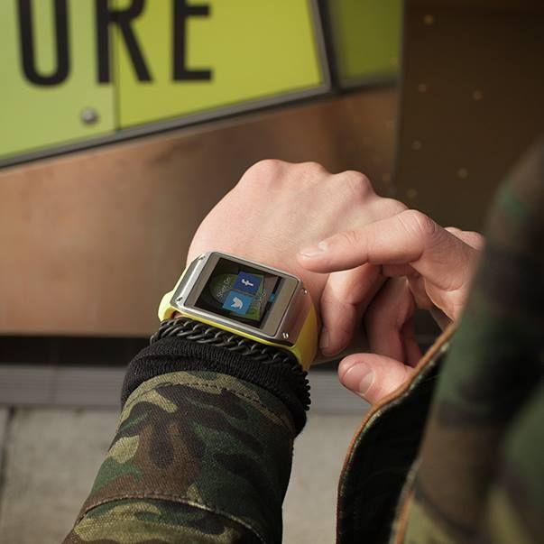 Osez le camouflage militaire avec la #GalaxyGear ! #Galaxy #Samsung #Camouflage #Militaire #Style