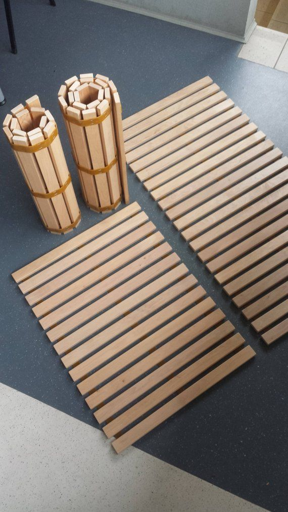 These Long Lasting Smart Roll On Alder Wood Mats Can Be Used
