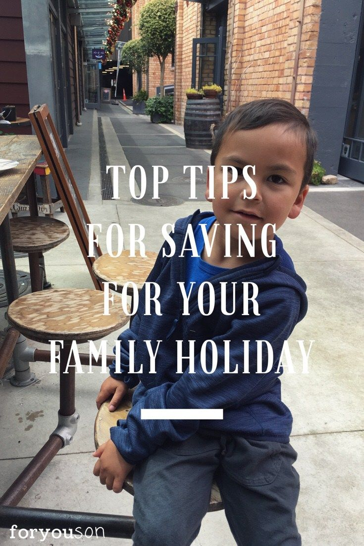 Saving for your family adventure isn't always easy. Use our tips to help you save for your next trip. So here are our tips for your family holiday