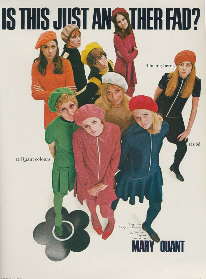1967, Mary Quant ad