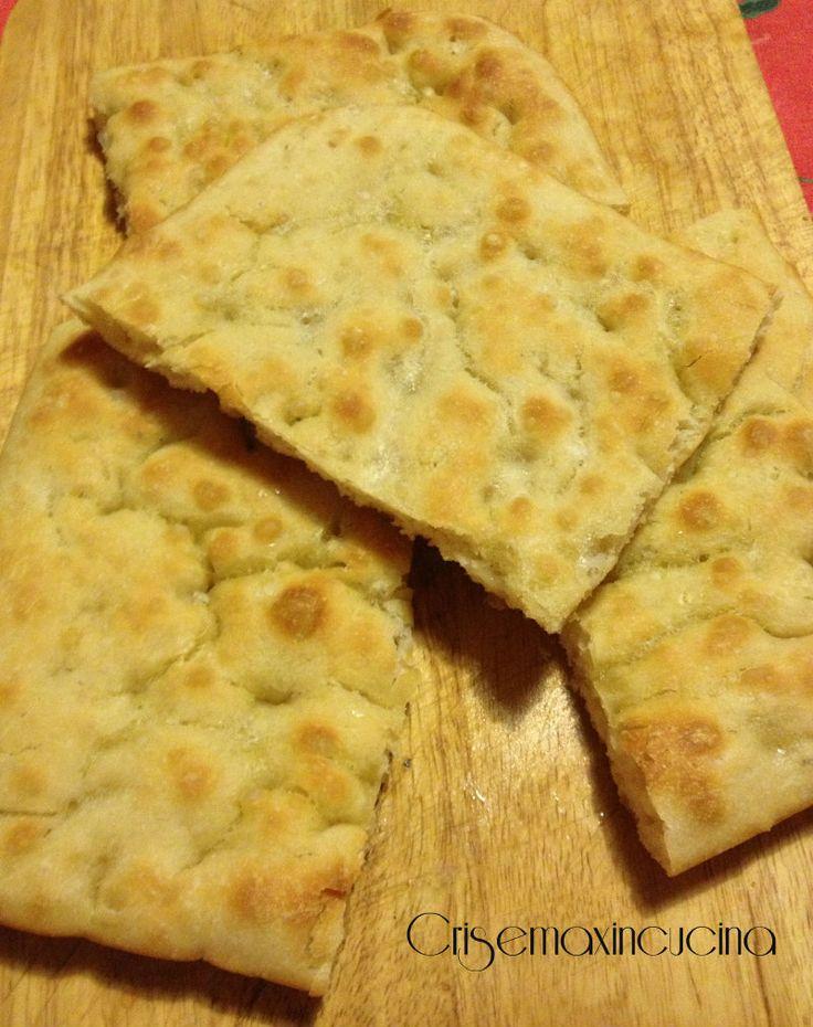 Focaccia tipo genovese di Bonci, ricetta lievitata