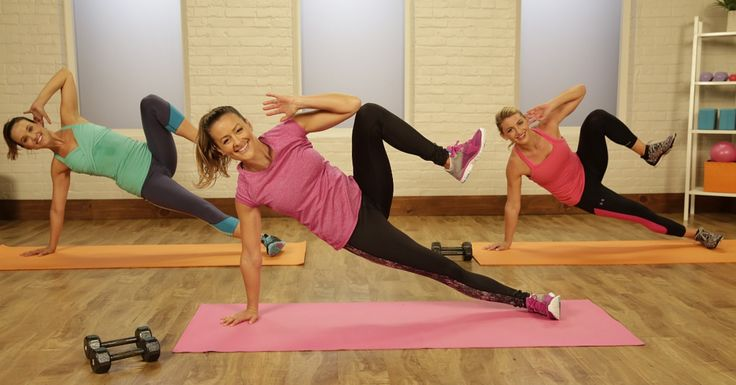 Burn It Up: 20-Minute 200-Calorie Blasting Workout