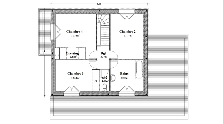 maison moderne etage rt 2012 plan et amenagement With amenagement exterieur maison moderne 1 europavage amenagement exterieur decouvrez nos