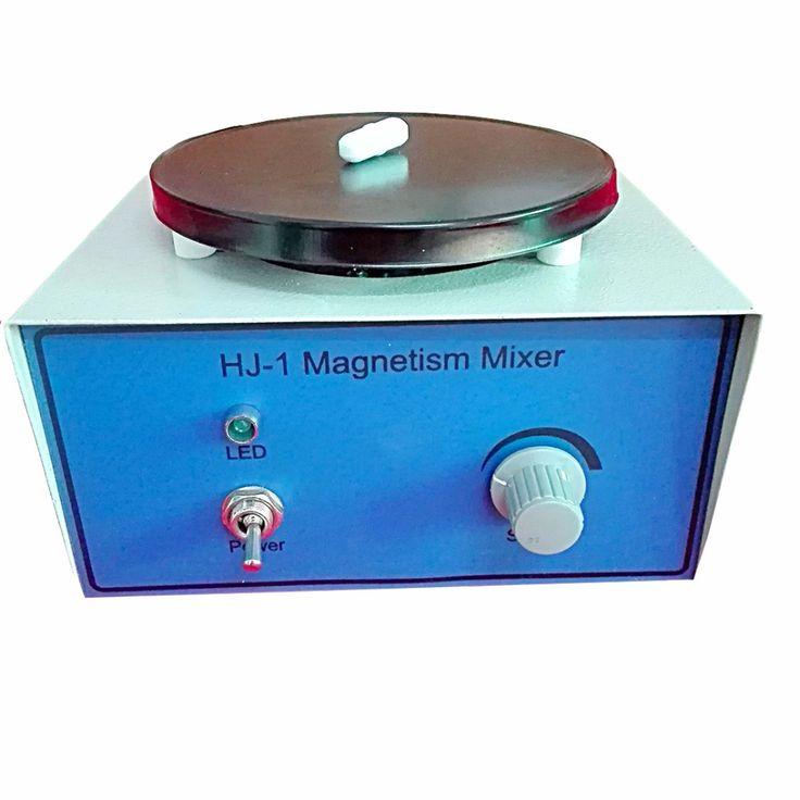 HJ-1 Laboratory Magnetic Stirrer Plate 2400RPM,Magnetism Mixer,1000ml Volume ,with Magnetic Stir bars,220v/110v  #Affiliate