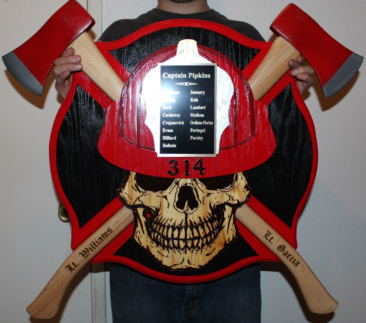 Firefighter Plaques Questions On Design Or Price Contact